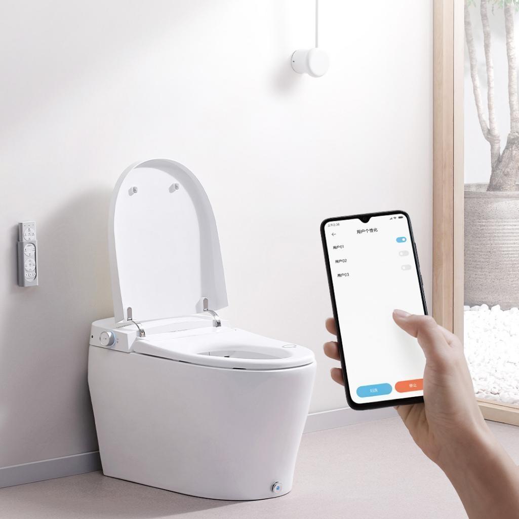 智米智能马桶盖一体机,全方位保护,焕新如厕新时代