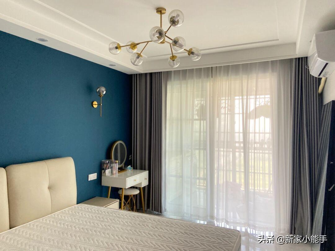 学她家装修北欧轻奢风格,效果很漂亮,网红款电视墙太喜欢了